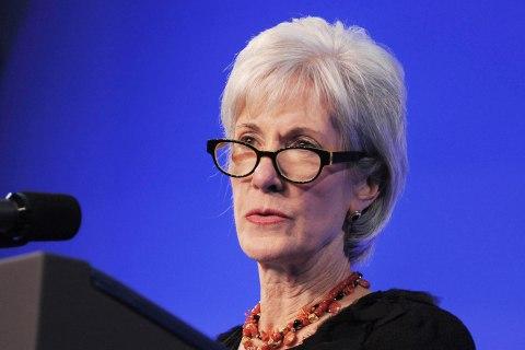 Health And Human Services Secretary Kathleen Sebelius Speaks At Mental Health Forum In Boston