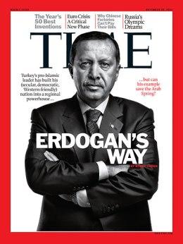 TIME Magazine Cover: Erdogan's Way