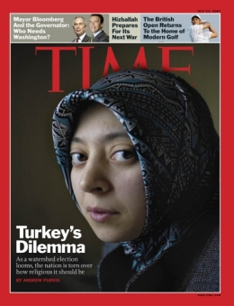 TIME Magazine Cover: Turkey's Great Divide