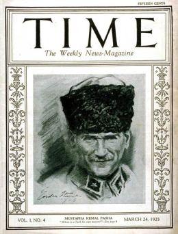 TIME Magazine Cover: Mustafa Kemal Ataturk