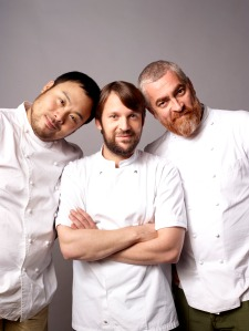David Chang, Rene Redzepi, and Alex Atala