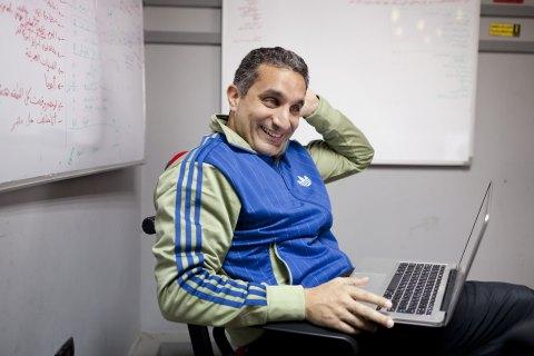 Egyptian Political Comedian Bassem Youssef