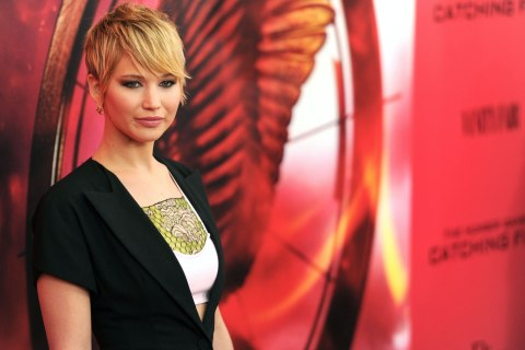 """""""The Hunger Games: Catching Fire"""" New York Premiere - Inside Arrivals"""
