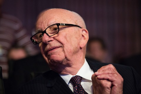 Rupert Murdoch at the Wall Street Journal CEO Council annual meeting, at the Four Seasons Hotel in Washington, D.C., on Nov. 19, 2013.